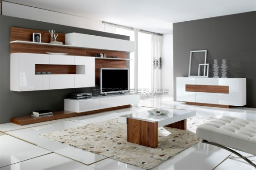 Modern wall units gallery collection by milmueble room service 360 - Modern wall units ...