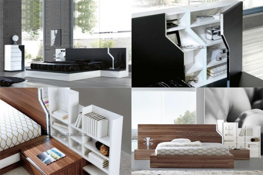 Introducing the 2010 Modern Bedroom Collection by Milmueble | room ...