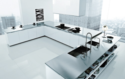 Matrix kitchen by Poliform