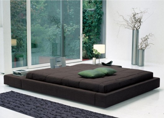 Floating Platform Bed