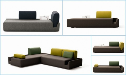 Fossa Modern Modular Seating Collection By Aurelien Barbry For Cor