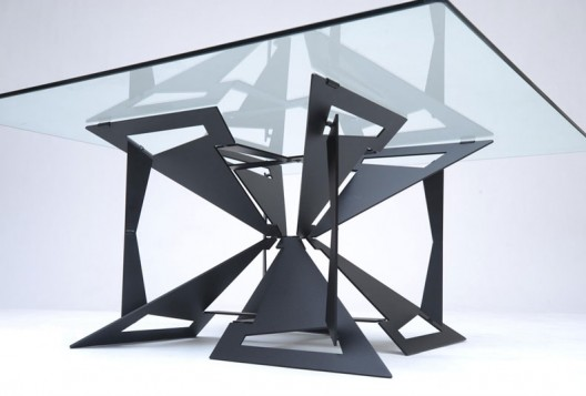 The art of getting more from less room service 360 for Steel table design