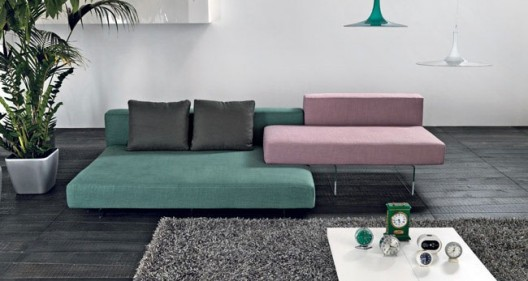 Air designer modern sofa by lago room service 360 for Lago furniture