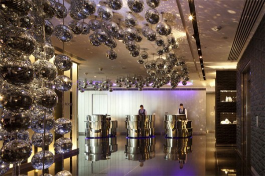 Glitzy modern design w hotel london leicester square