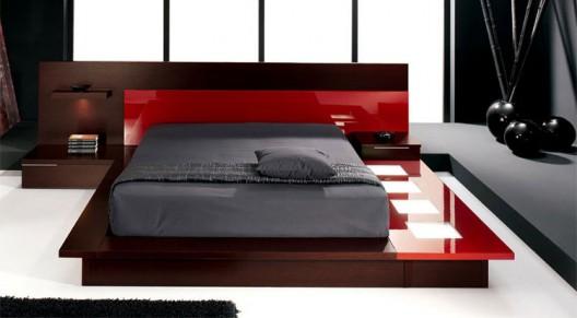 Selex Blok Walk On Modern Platform Bed