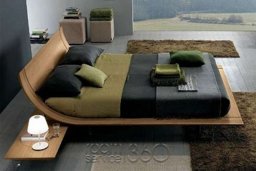 Aqua 2 Ultra Modern Platform Bed By Presotto Room