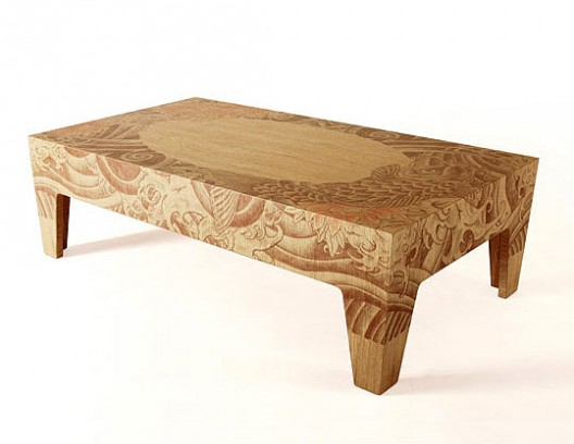 yakuza designer table collectionstudio reddish | room service