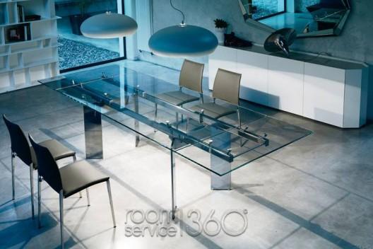 Elan extension dining table by Cattelan Italia. Modern Design  Mid Century Bauhaus Style   room service 360  blog