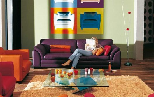 Pop Art Sofa By Roche Bobois
