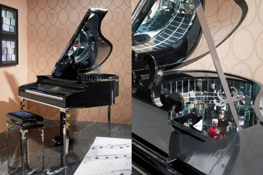 hidden bar furniture. larix grand piano by samuele mazza and alessandro la spada for visionnaire hidden bar furniture m
