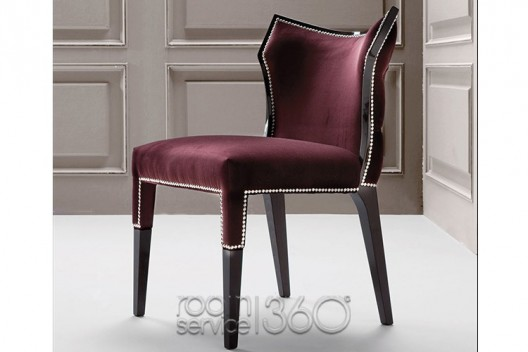 couture dining chairs from costantini pietro room service 360 blog