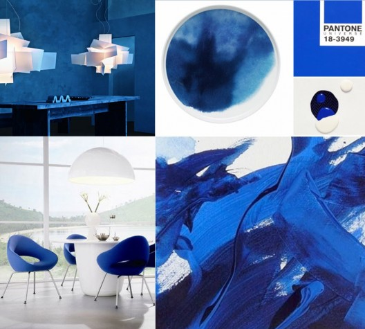 Cobalt blue powder white room service 360 for Cobalt blue living room