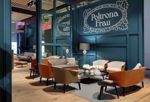 Poltrona frau new designs at 2014 international furniture fair in milan