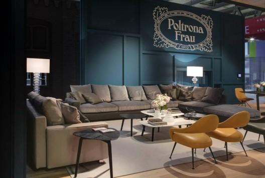 Poltrona Frau Showroom At 2014 International Furniture Fair In Milan