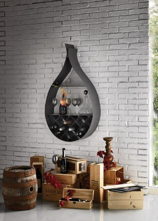 Drop wine rack by Cattelan Italia