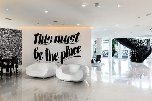 Mondrian Hotel in Miami designed by Marcel Wanders