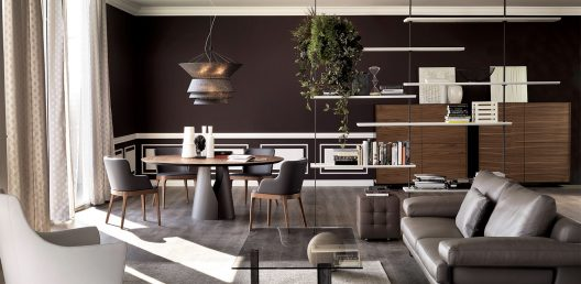 Giano dining table by Cattelan Italia