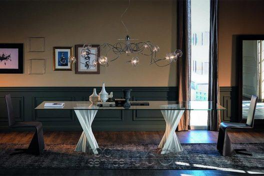 Plisset dining table by Cattelan Italia