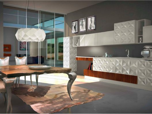 Kitchen from Sindey collection by Bizzotto Italia