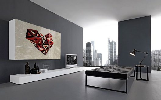 I-modulART wall unit collection by Presotto