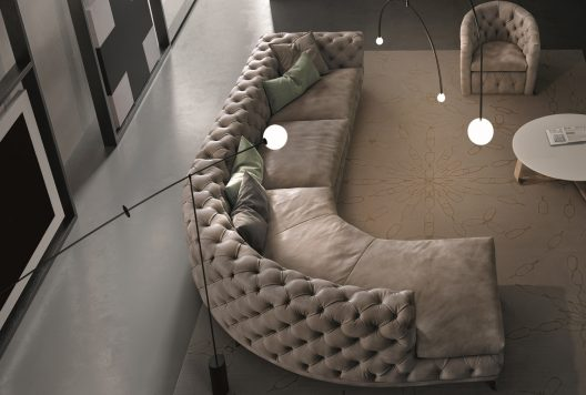 Aston sectional sofa by Gamma Arredamenti