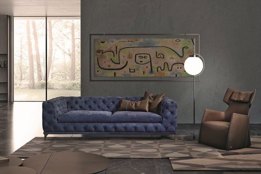 Aston sofa by Gamma Arredamenti