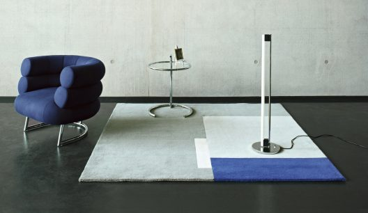 E-1027 glass table by Eileen Grey