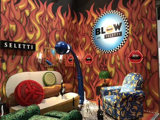 Seletti 2018 collection at Salone del Mobile in Milan