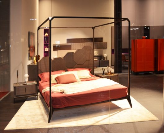 Sipario bed by Rossetto