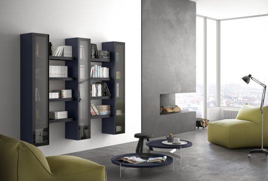 Spazio 66 bookcase by Pianca