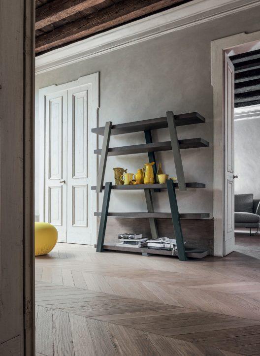 Note bookcase by  Mario Mazzer for Bonaldo