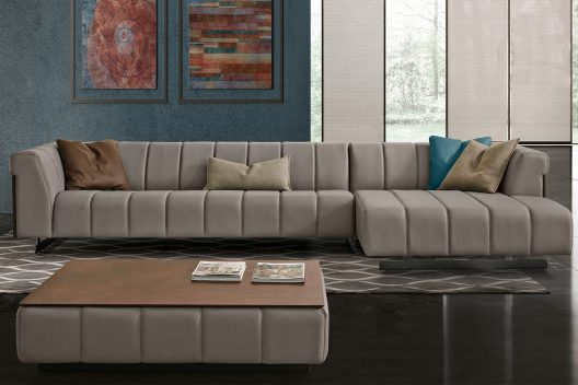 Nautilus sectional sofa by Gamma Arredamenti