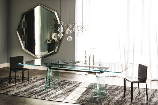 Klirr dining table by Cattelan Italia