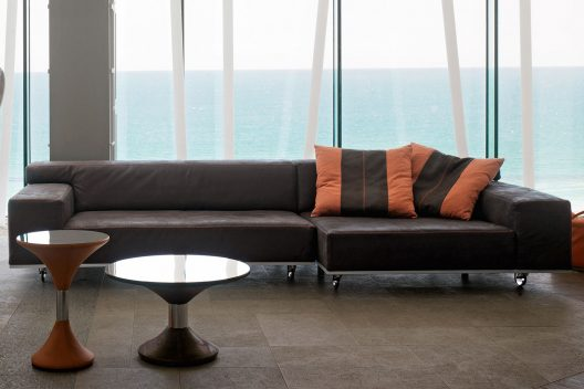 Roller sectional sofa by Gamma Arredamenti